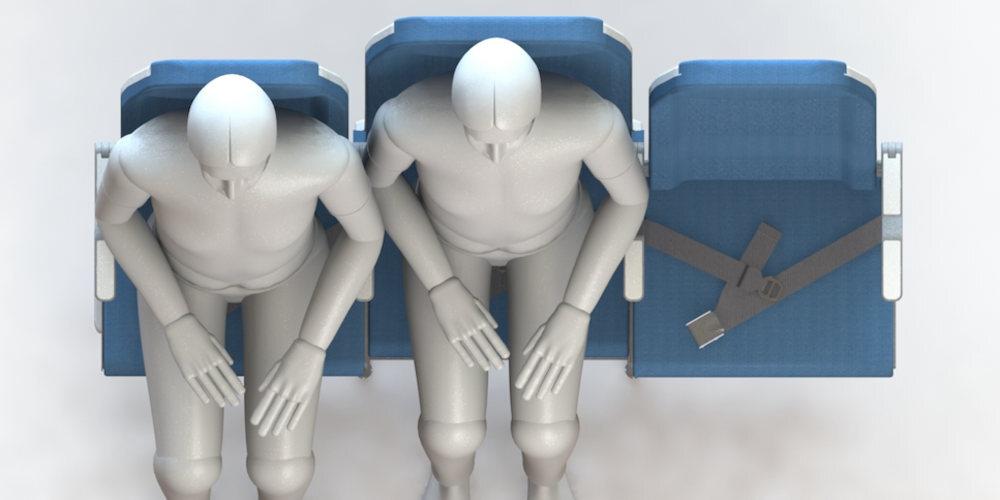 molon labe asientos avion 1