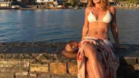 Emma García en una fotografía durante sus vacaciones de 2018.