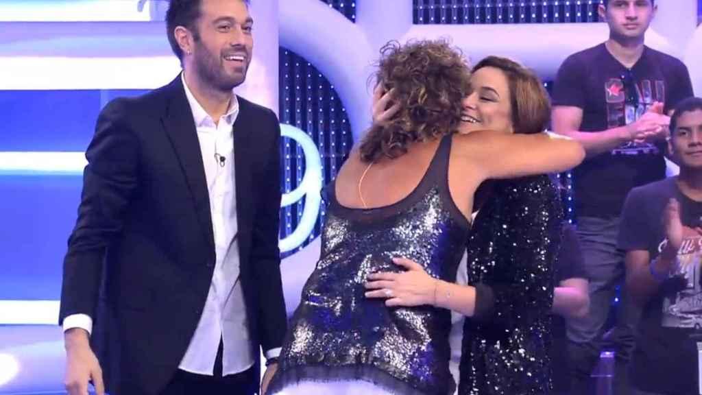Toñi Moreno y Rosana en 'El concurso del año'.
