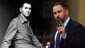 El dramaturgo Bertolt Brecht y Abascal.