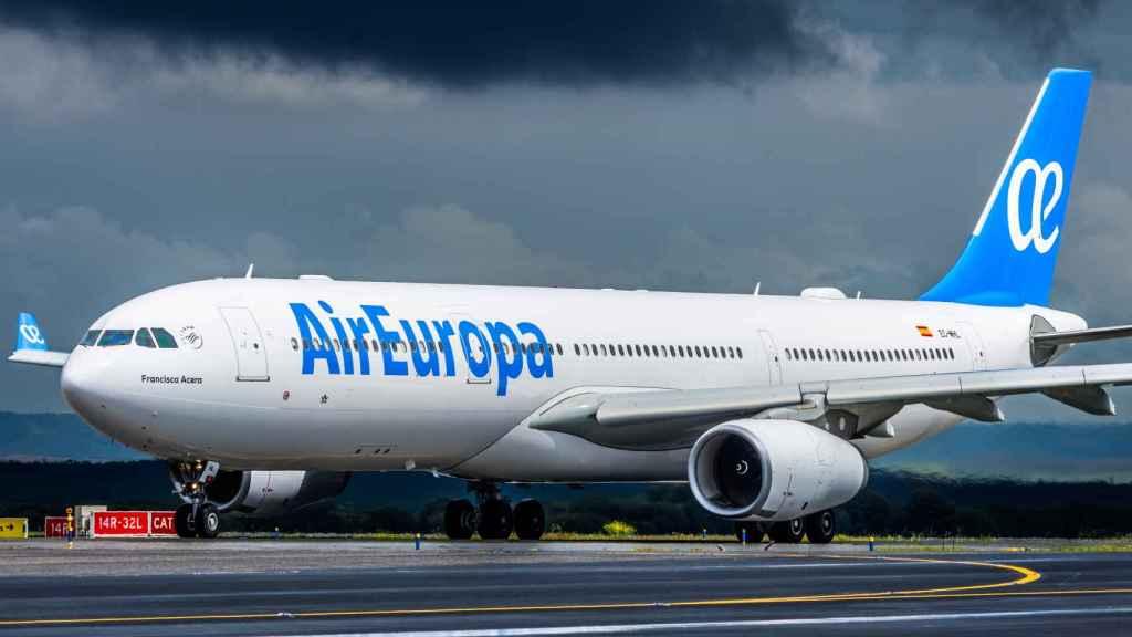 Un avión de Air Europa.