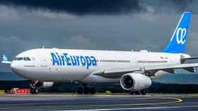 Avión de Air Europa, en una imagen de archivo.