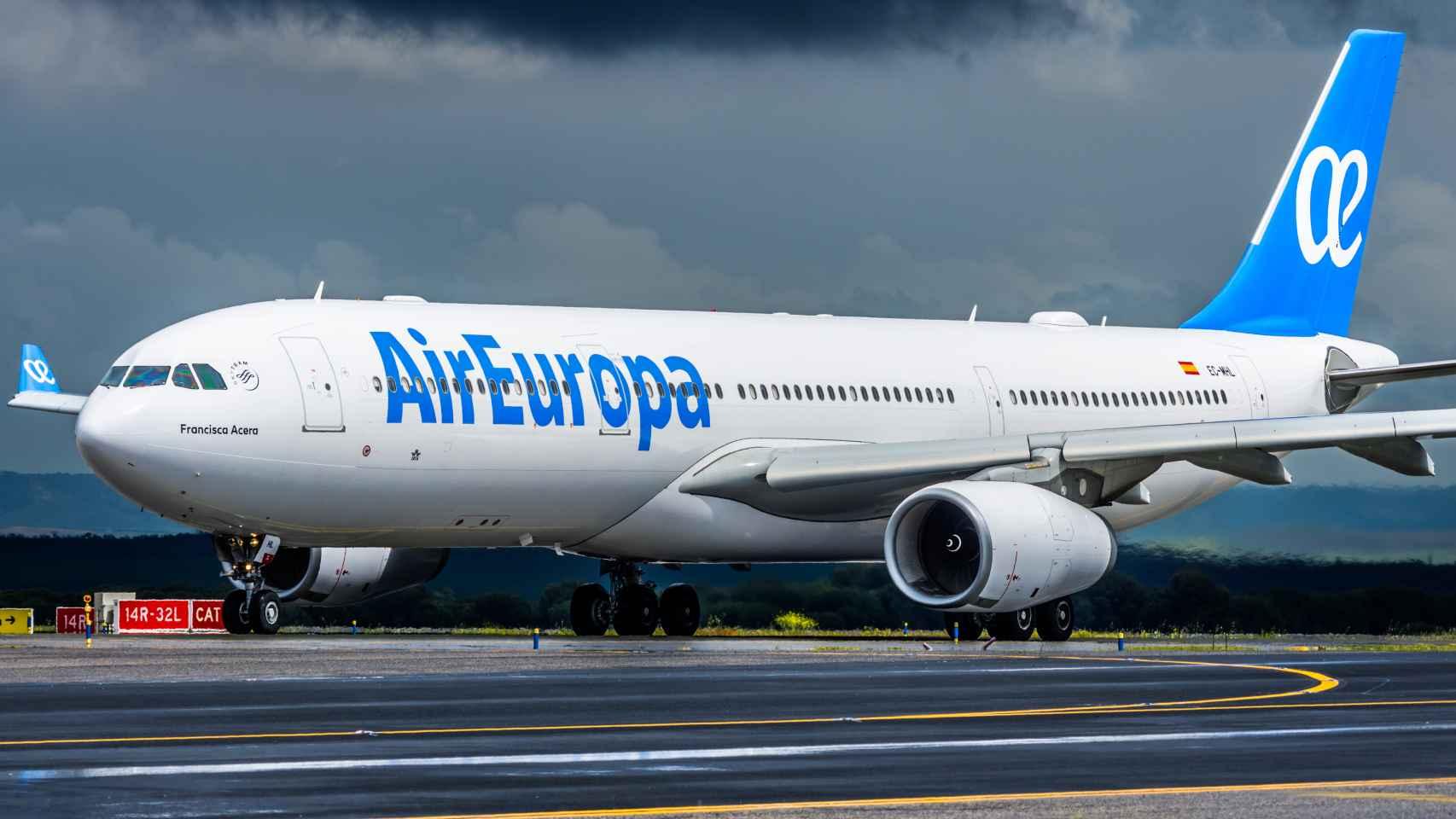 Air Europa transportó 6,1 millones de pasajeros entre enero y junio, un 14% más que en 2018