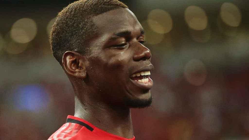 Pogba con el Manchester United