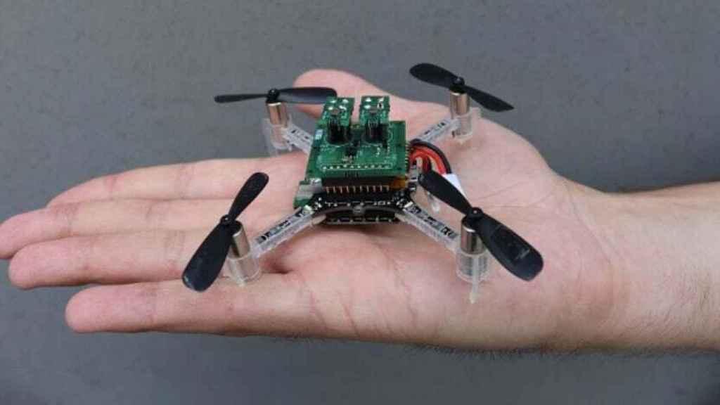 Dron autónomo que detecta gases