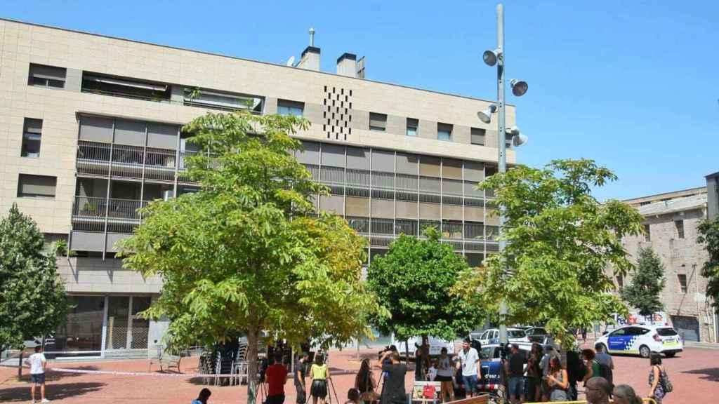 Plaza del Vapor Gran, lugar en el que residía la doctora asesinada