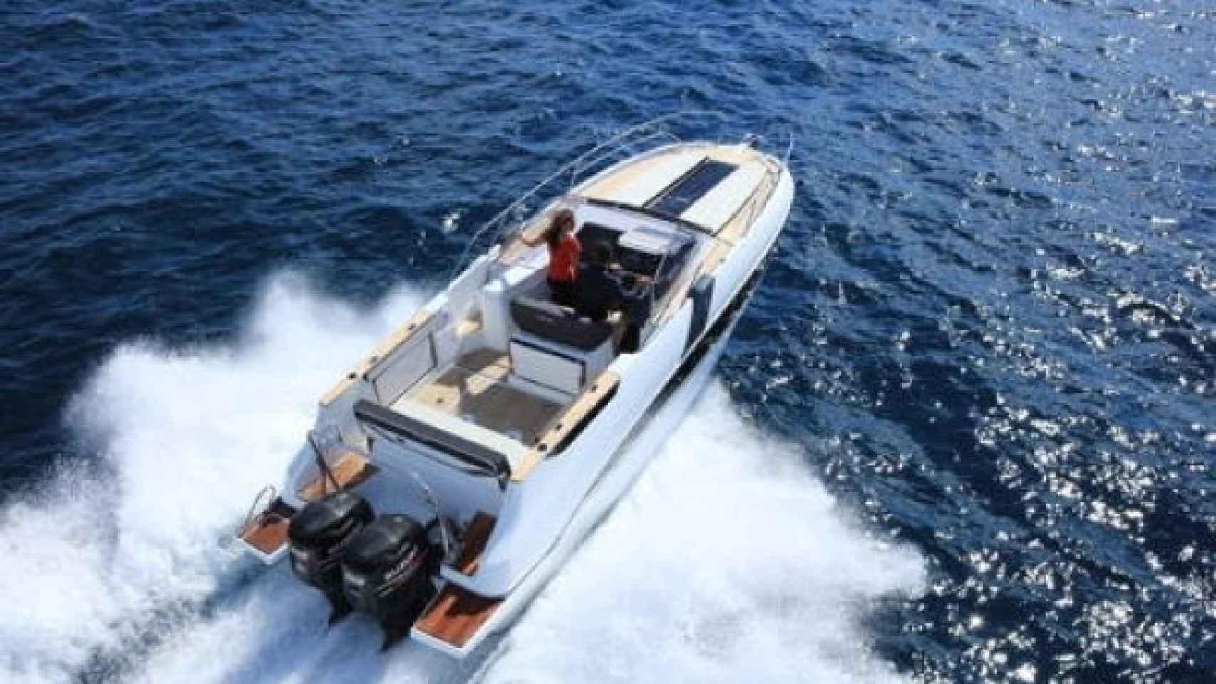 Así es el barco que Nuria Roca ha alquilado en Menorca
