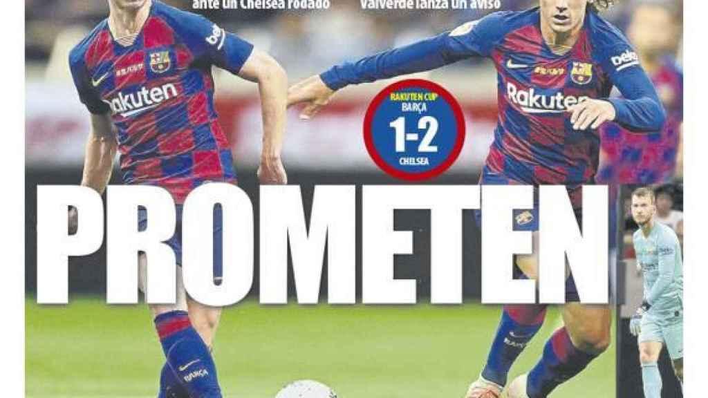 Portada Mundo Deportivo (24/07/19)