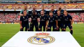 La alineación titular del Real Madrid frente al Arsenal