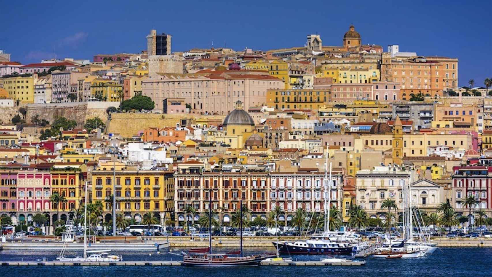 Cagliari, capital de Cerdeña