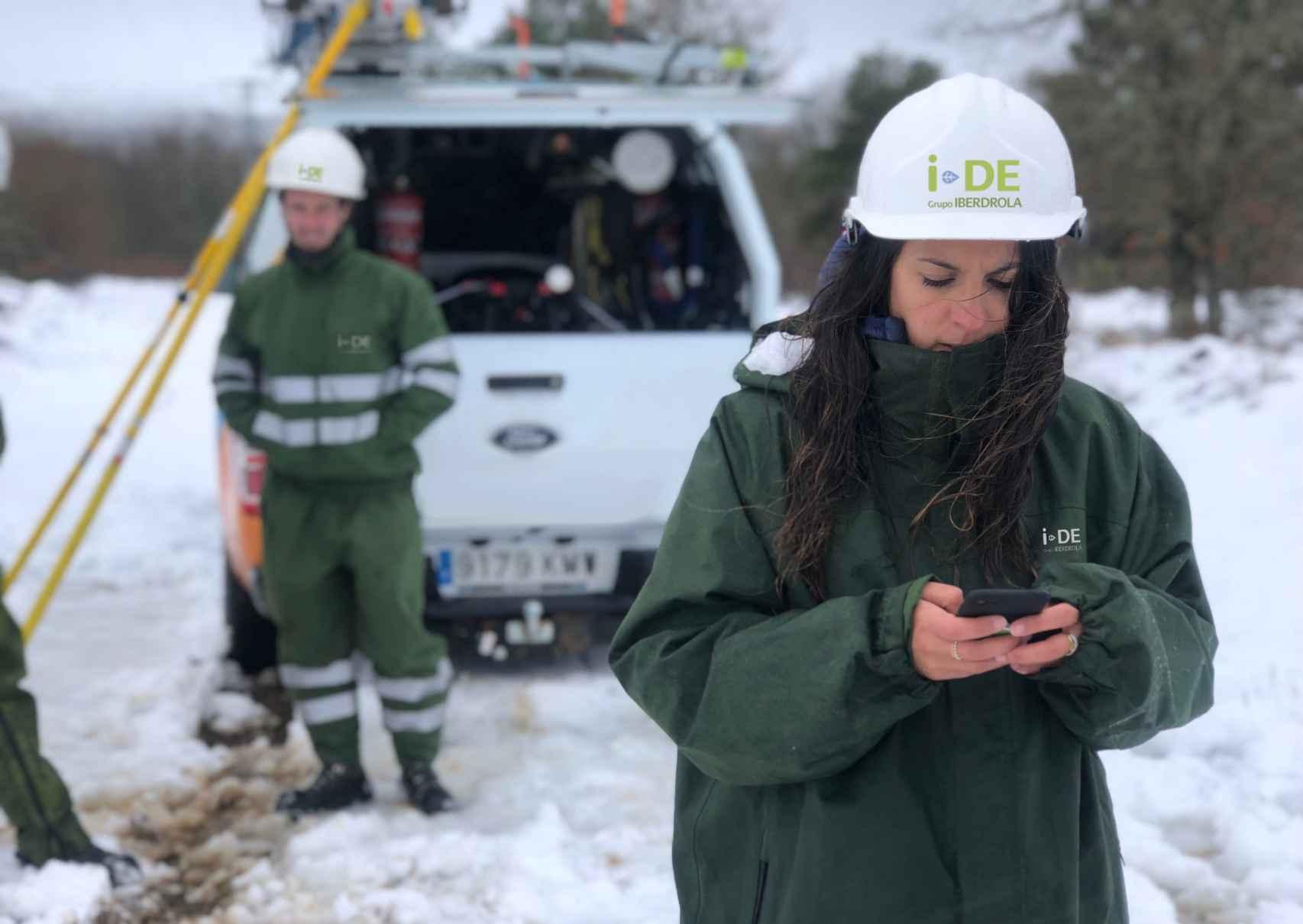Trabajos de mantenimiento de redes.
