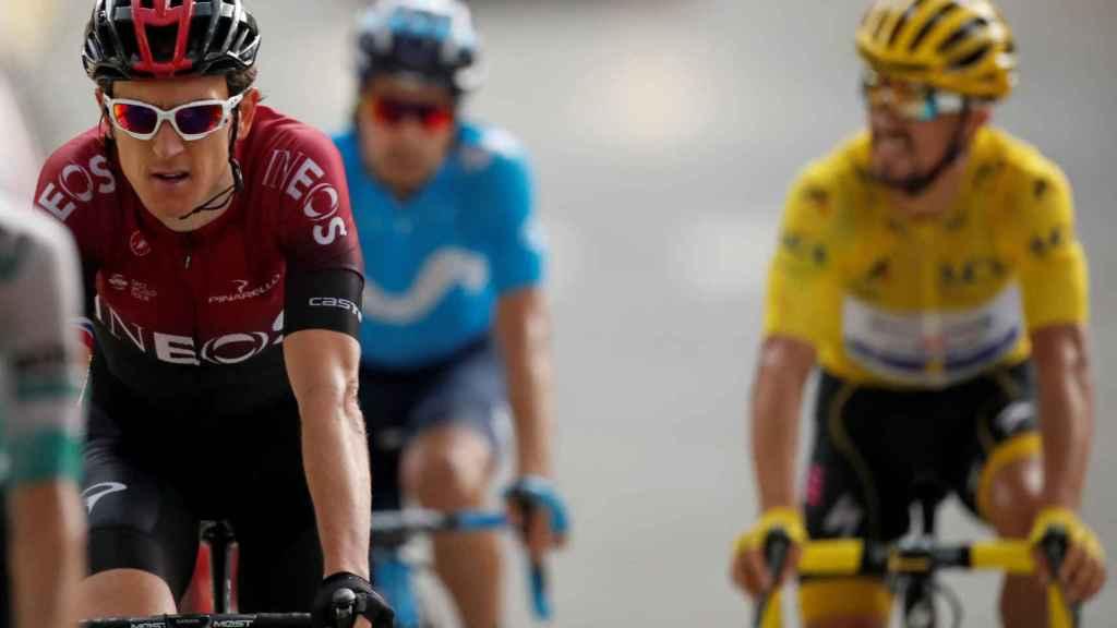 Thomas y Alaphilippe en el Tour de Francia