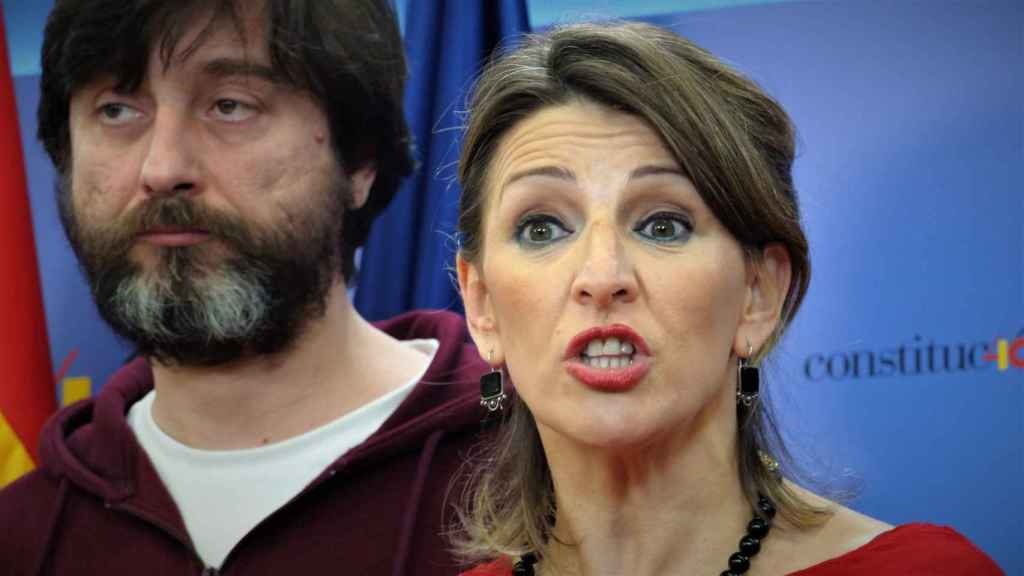 Yolanda Díaz, diputada del grupo confederal de Unidas Podemos en el Congreso.