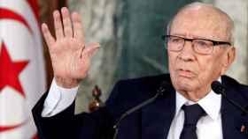 Beji Caid Essebsi era el presidente de Túnez.
