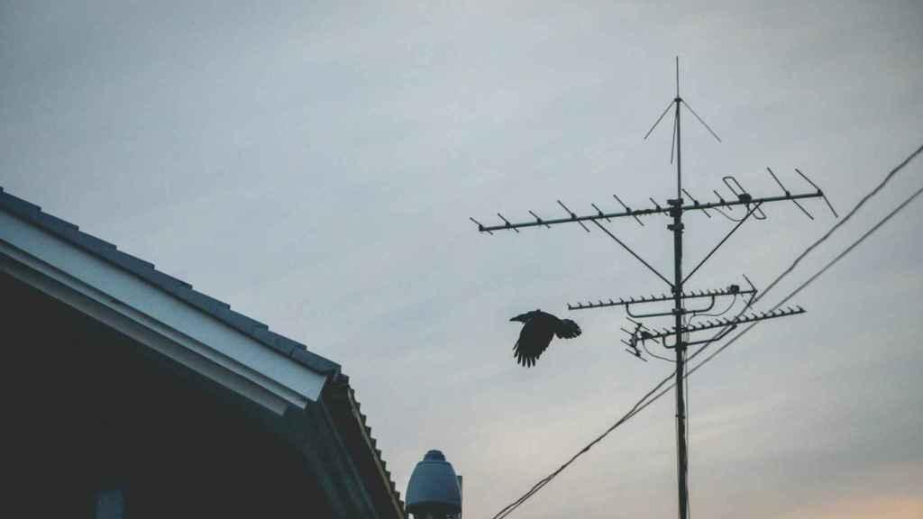 Antena de televisión, en una imagen de archivo.