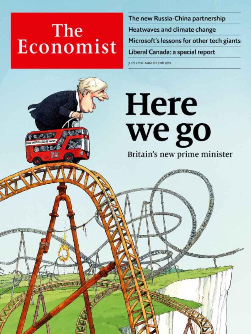 Portada del semanario británico The Economist