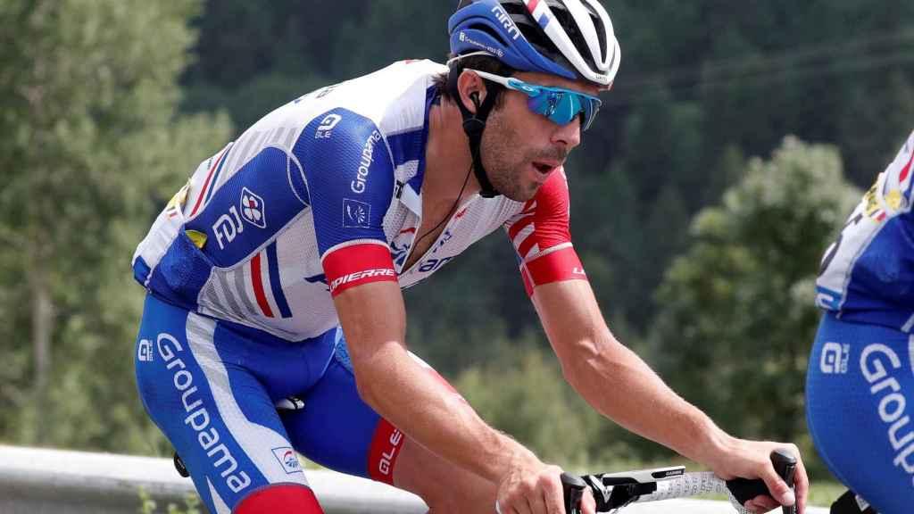 Pinot durante la 19ª etapa del Tour de Francia.
