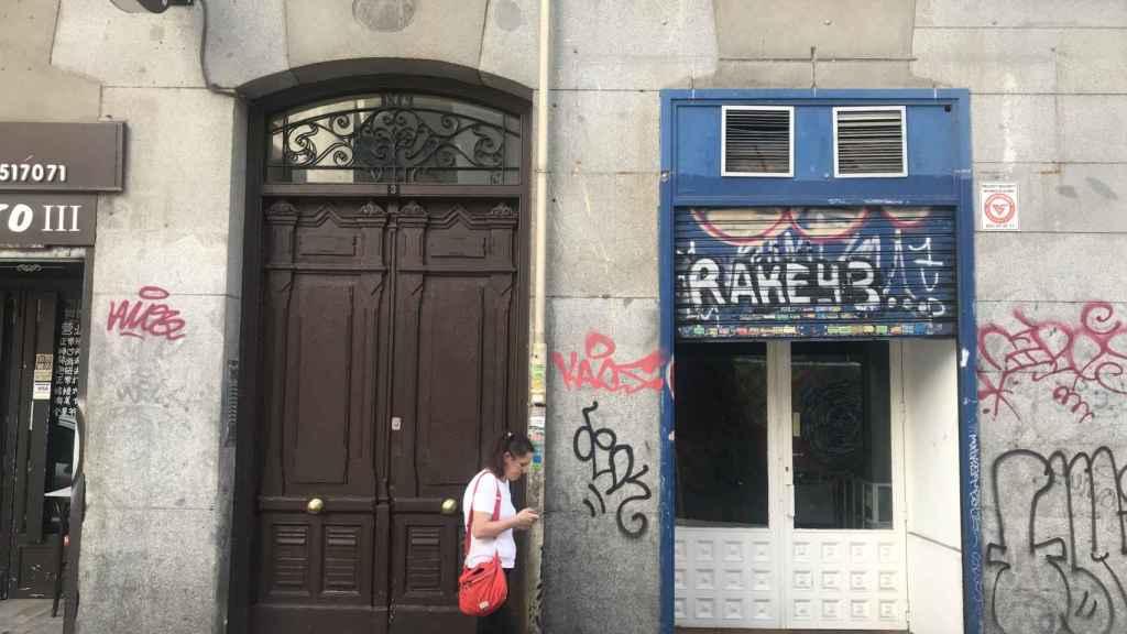 Portal del edificio.