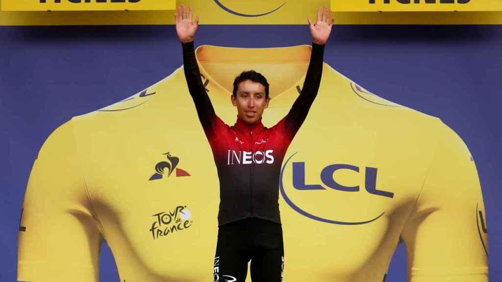 Egan Bernal, líder del Tour de Francia