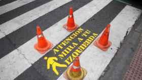 plan de control de pasos de peatones