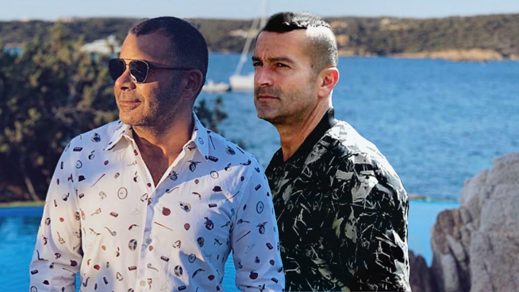 Jorge Javier y Paco en un montaje de JALEOS.