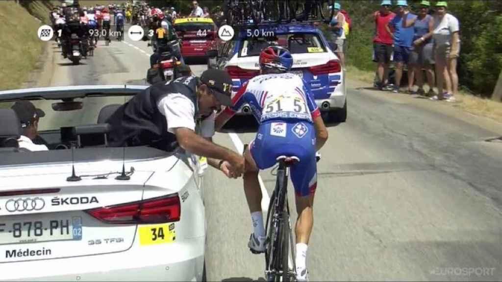 Thibaut Pinot se retira del Tour de Francia