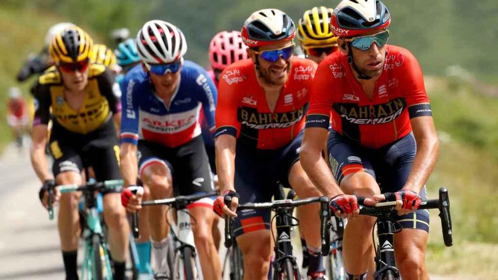 Pelotón en el Tour de Francia.