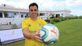 José Manuel Jurado, nuevo jugador del Cádiz. Foto: Twitter (@Cadiz_CF)