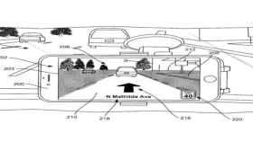 Retrovisor con realidad aumentada, la última idea de Apple para su coche