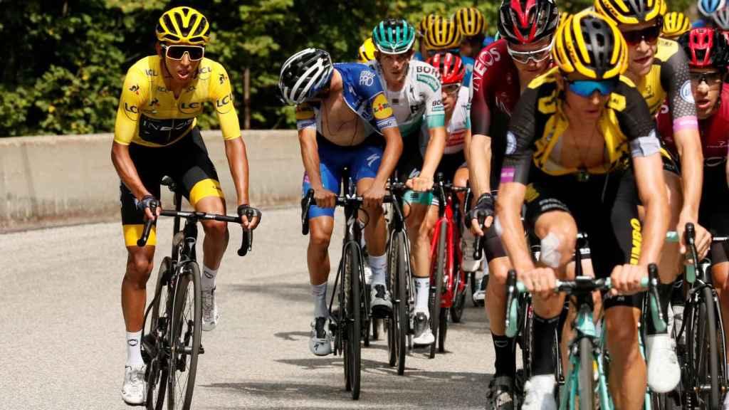 Bernal, durante la 20ª etapa del Tour de Francia