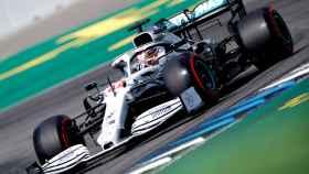 Hamilton, en el GP de Alemania