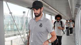 Isco y Marcelo, a la llegada del Real Madrid a España tras la International Champions Cup 2019