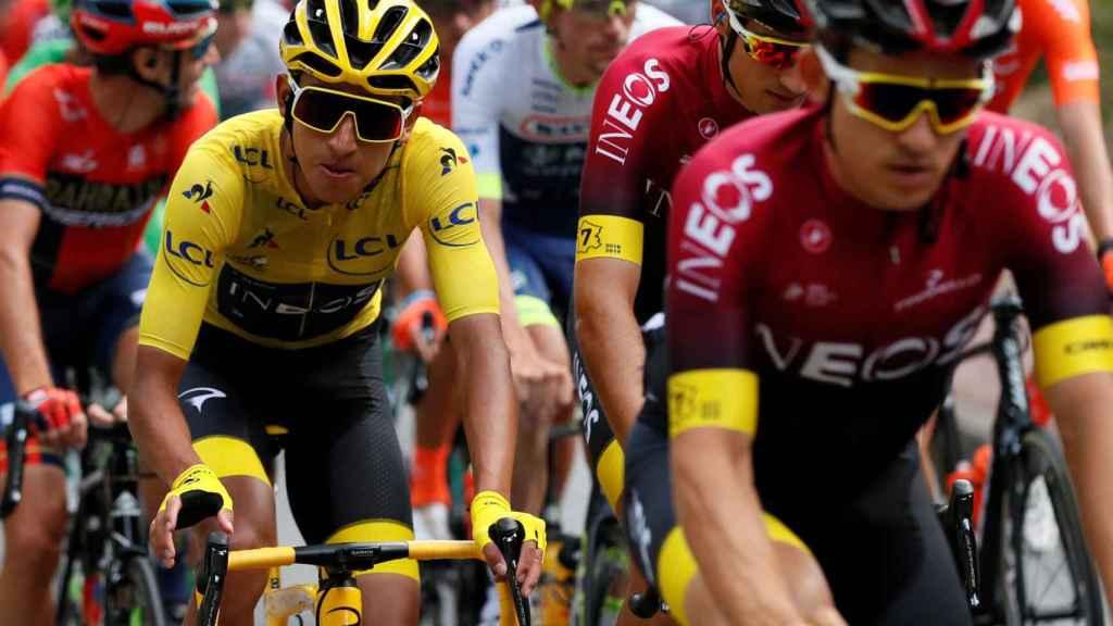 Pelotón del Tour de Francia.