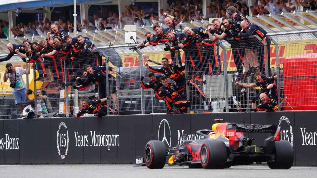 Max Verstappen en el Gran Premio de Alemania de Fórmula 1.