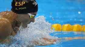 Joanllu Pons, nadador español