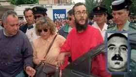 Ortega Lara, el día de su liberación, el 1 de julio de 1997.
