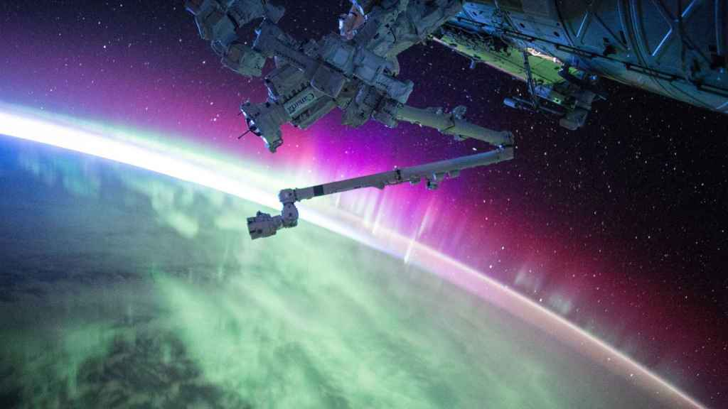 Satélite visto desde el espacio.