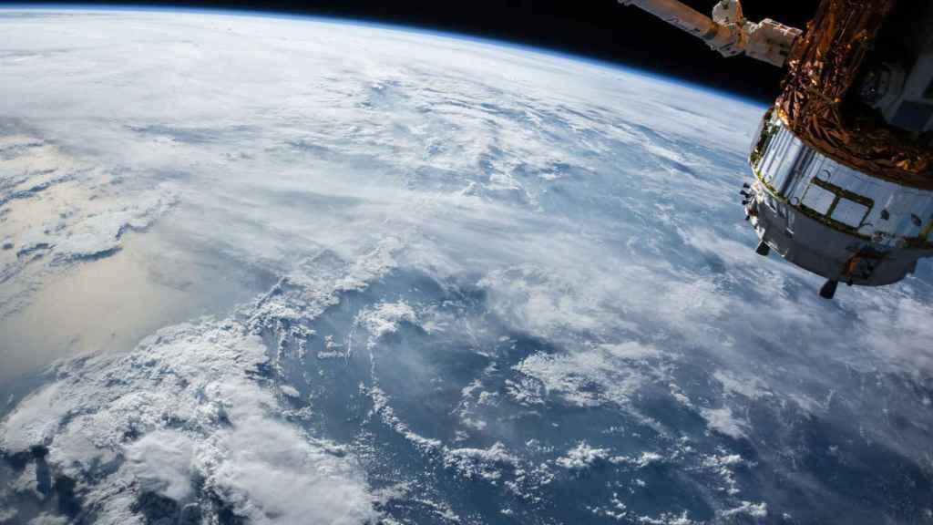 Tierra vista desde el espacio.