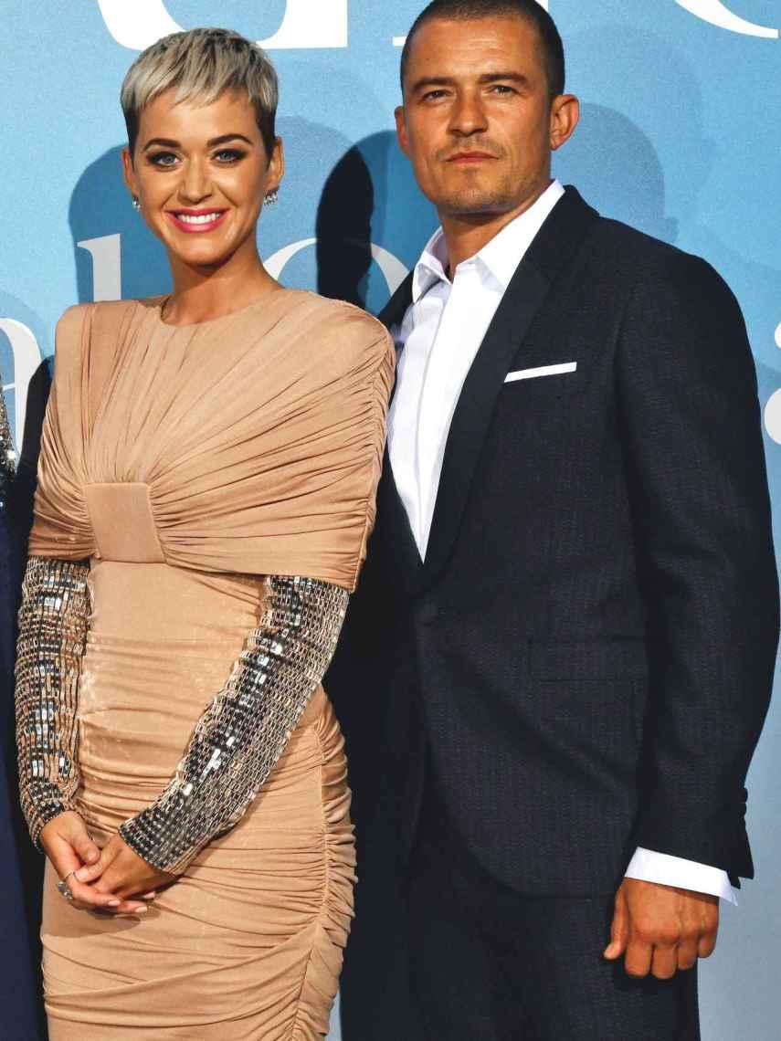 Orlando Bloom y Katy Perry en una imagen de archivo.