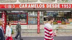 Una tienda de golosinas tradicional.