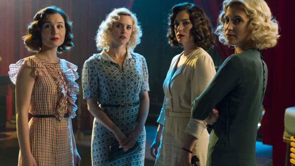 'Las chicas del cable', serie de Netflix producida en España.