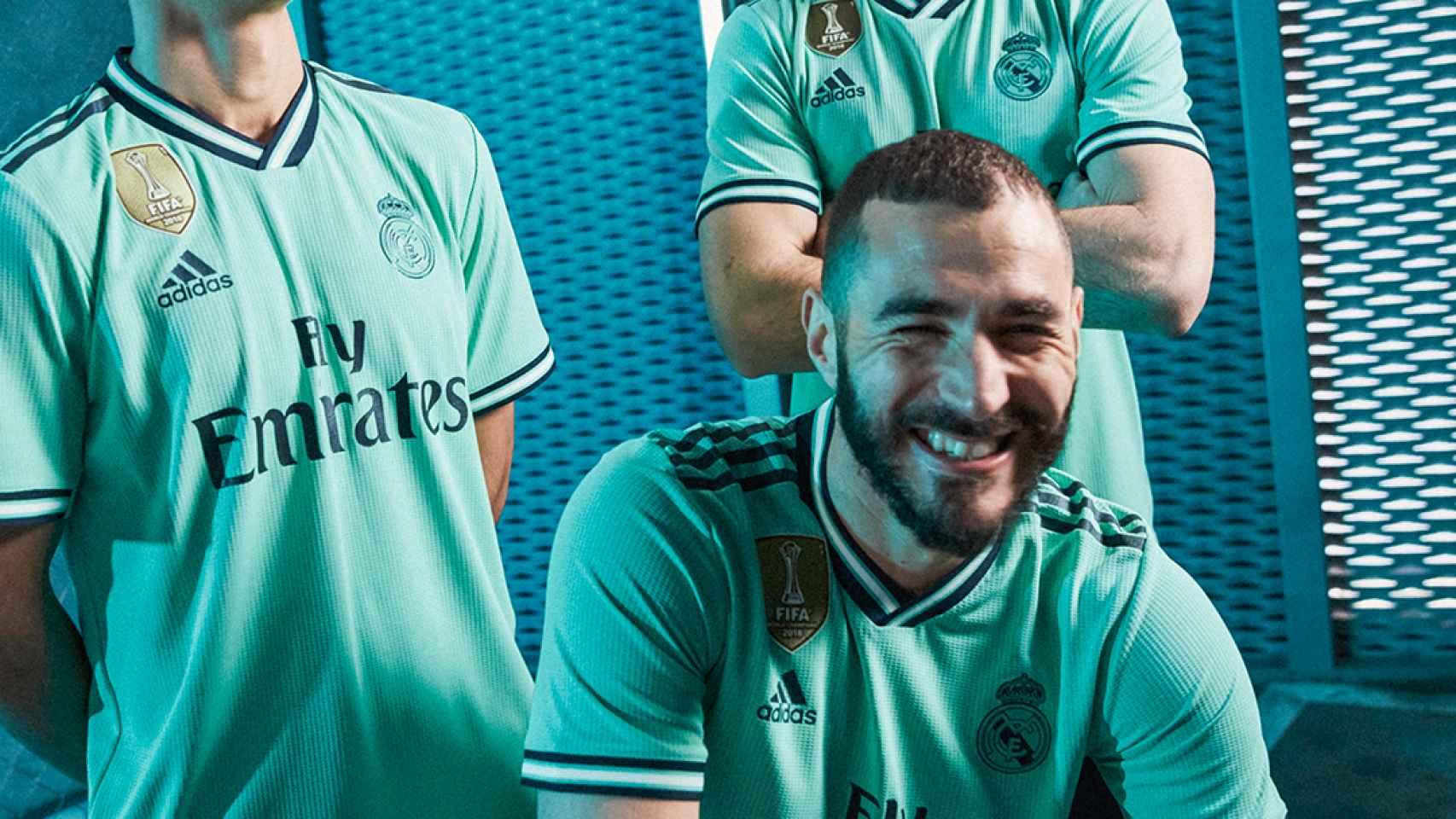 Así es la tercera camiseta del Real Madrid en la temporada 2019/20
