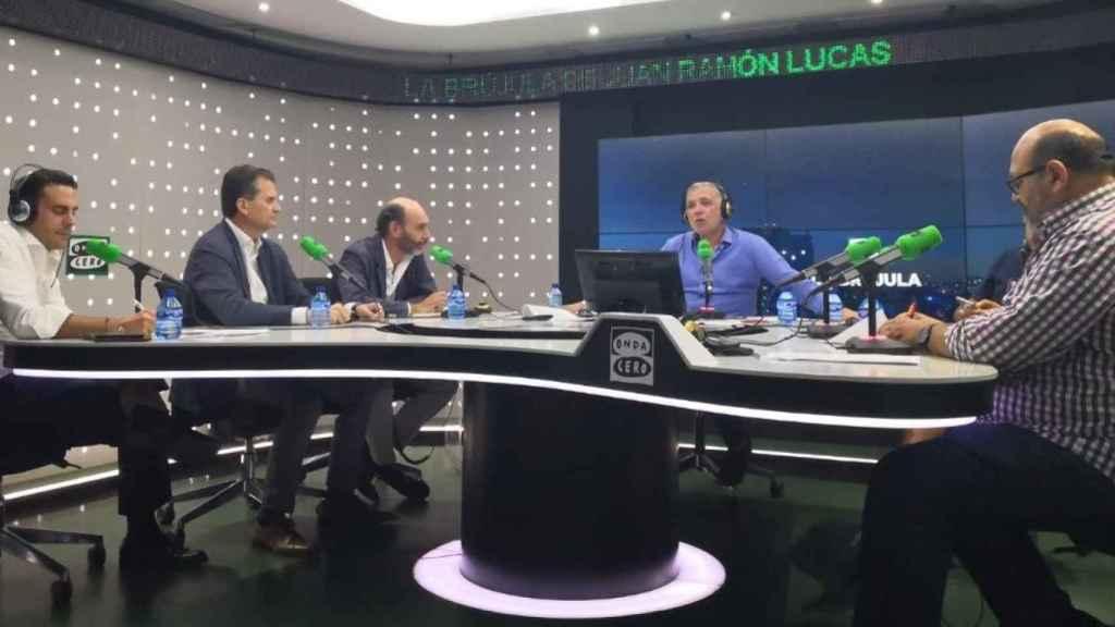 José Luis Sancho (Accenture) y Alberto Cánceres (Trison) en 'La Brújula' de Onda Cero.