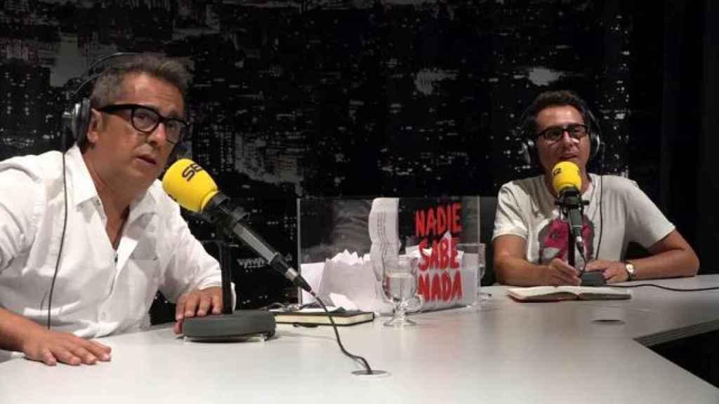 Buenafuente y Berto Romero en 'Nadie sabe nada'.