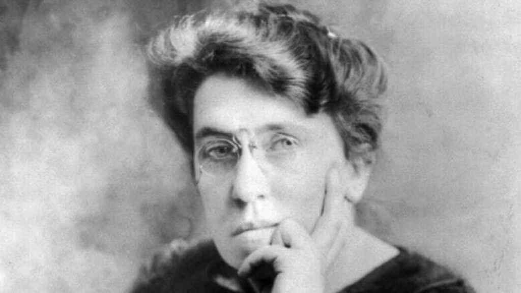 Emma Goldman.