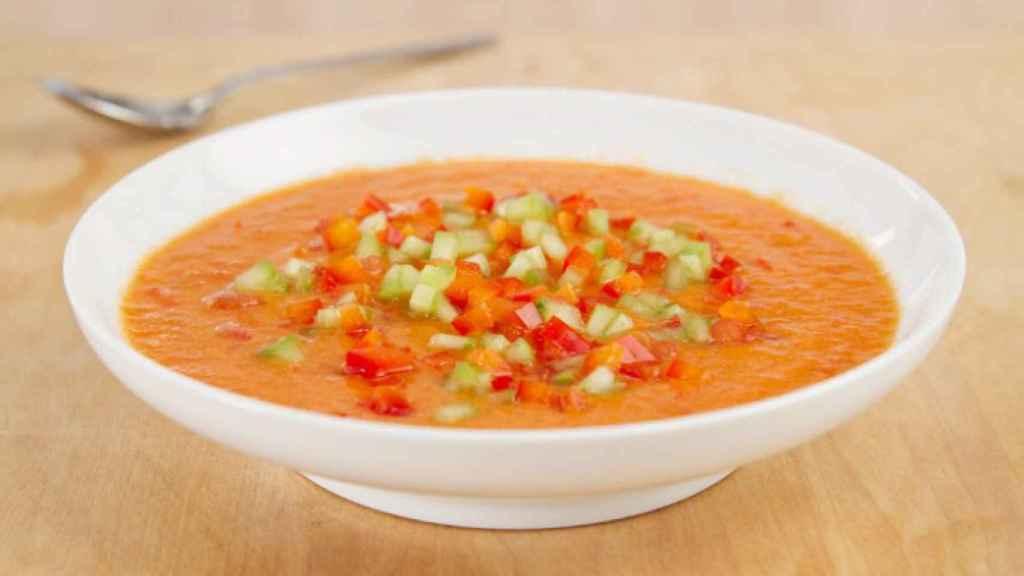 El gazpacho puede no ser saludable si se toma cuando no se debe.