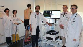 El equipo que forma la nueva Unidad de Cardiología Deportiva de la Fundación Jiménez Díaz.