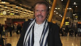 Edmundo Arrocet en una imagen  tomada en el Aeropuerto en 2018.