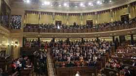 Hemiciclo del Congreso durante el debate de investidura.