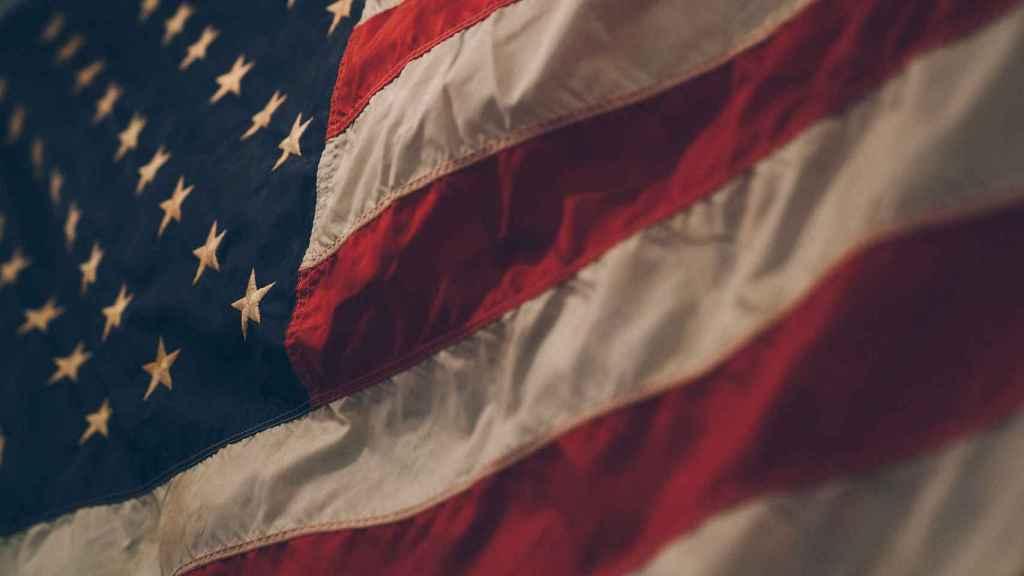 Bandera de los Estados Unidos.